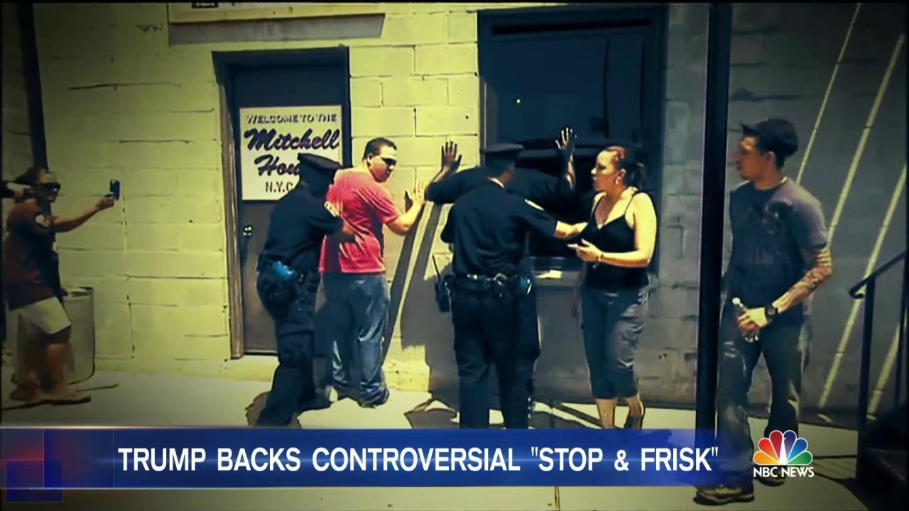 the stop and frisk policy analysis Data already helped end mass stop-and-frisk in new york  to new york's stop- and-frisk policies, delivering a strong ruling in favor of a class action  through  close analysis of the forms that the nypd used to track stops, the.