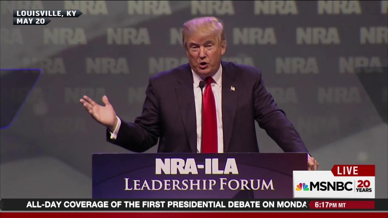 Trump calls for stop and frisk, gun seizures
