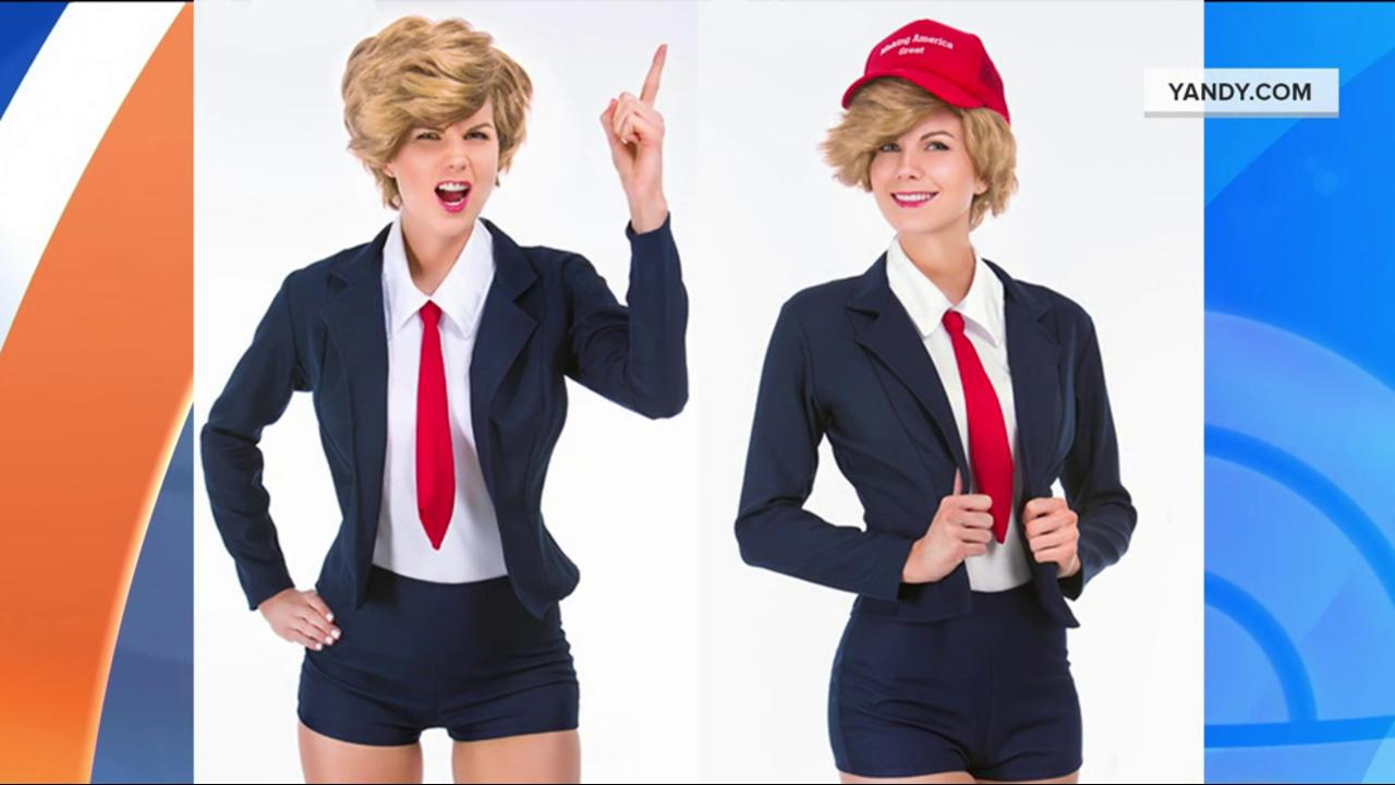 sexy donald trump hillary clinton costumes on sale for halloween