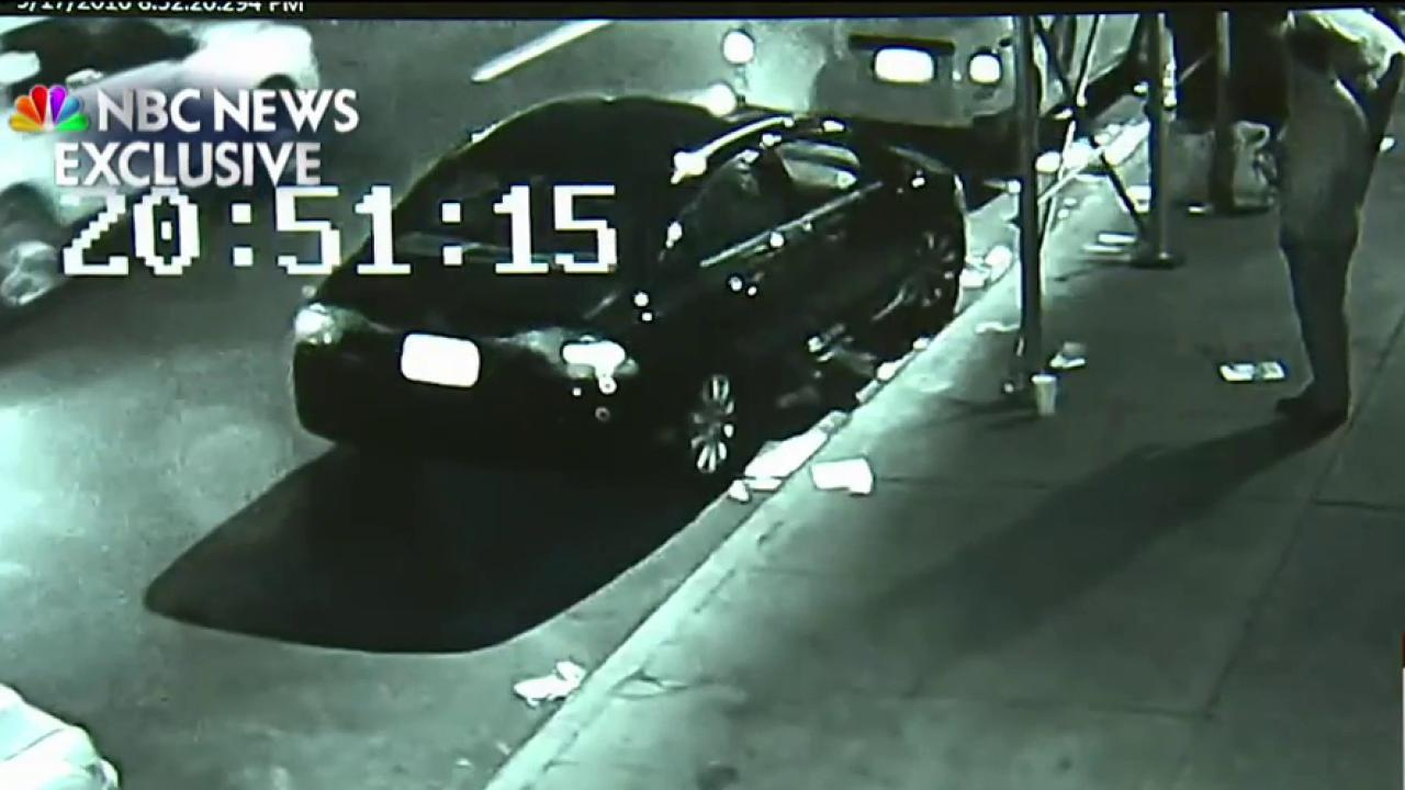 New video appears to show NY bombing suspect