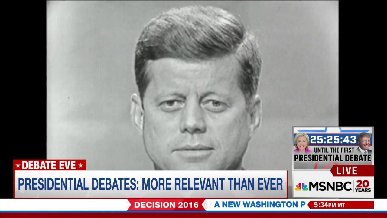 How presidential debates impact elections