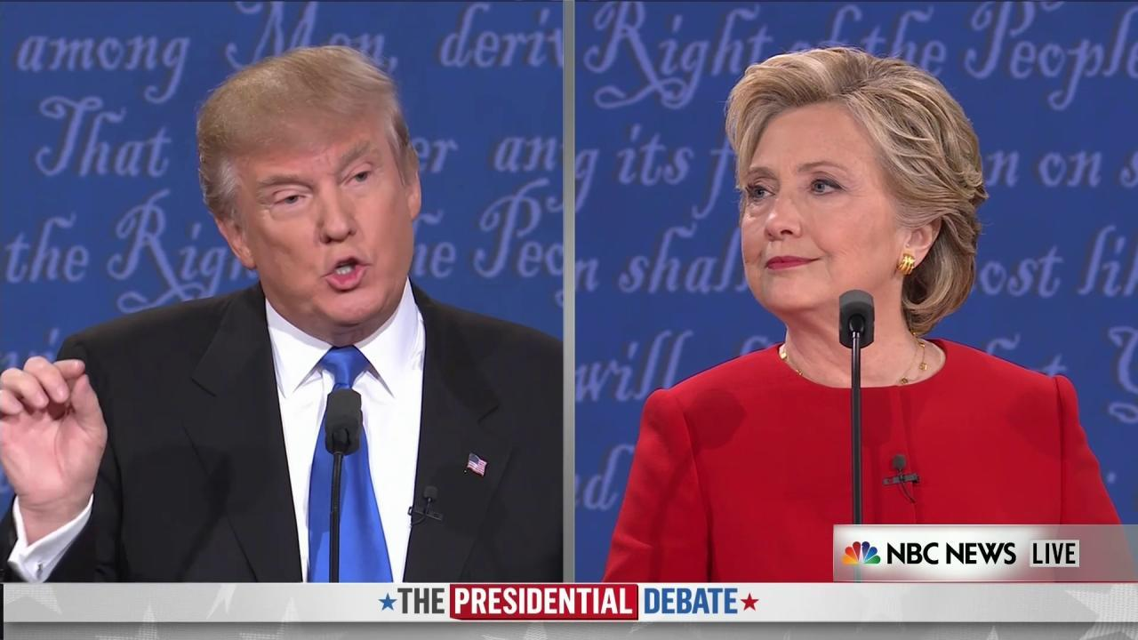 analysis hillary clinton u0027s studies for 2016 debate with donald