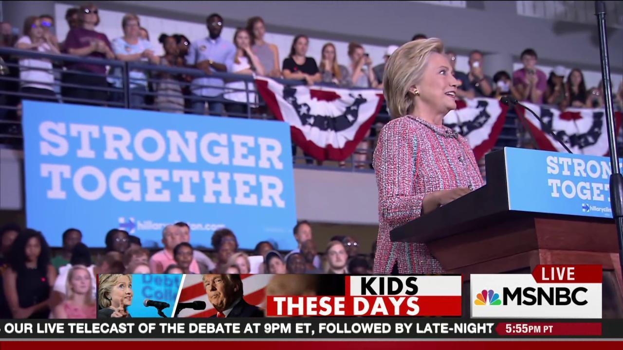 Hillary Clinton's fight for millennials