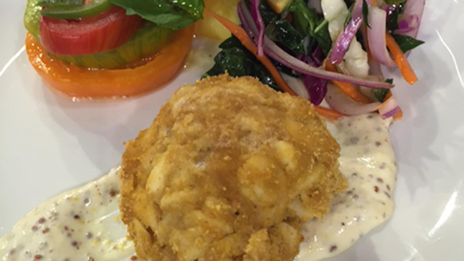 Crab Cakes With Corn Flake Crumbs