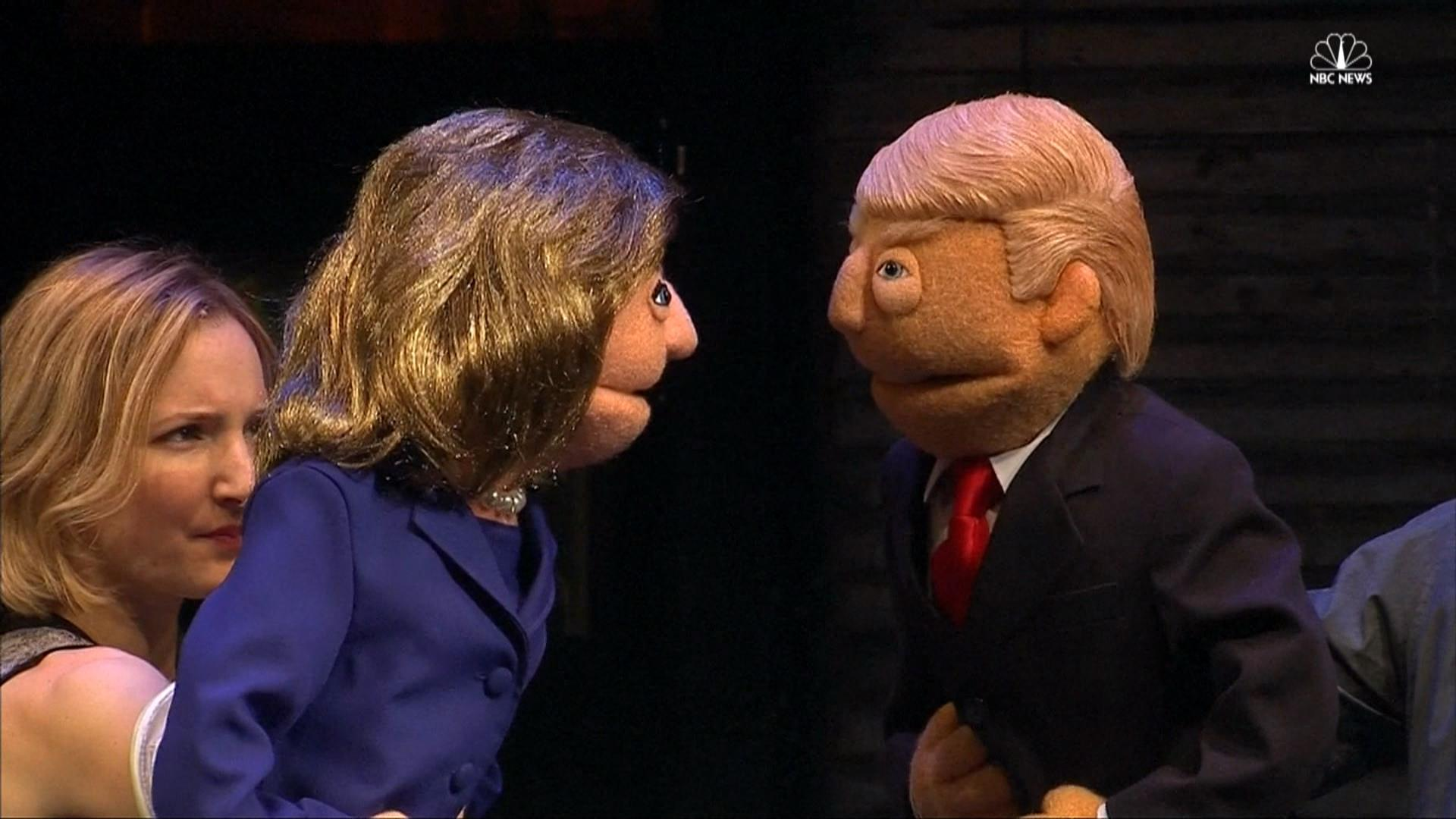 These Puppets Prove Presidential Election Is A Huge Joke - Us election nbc map