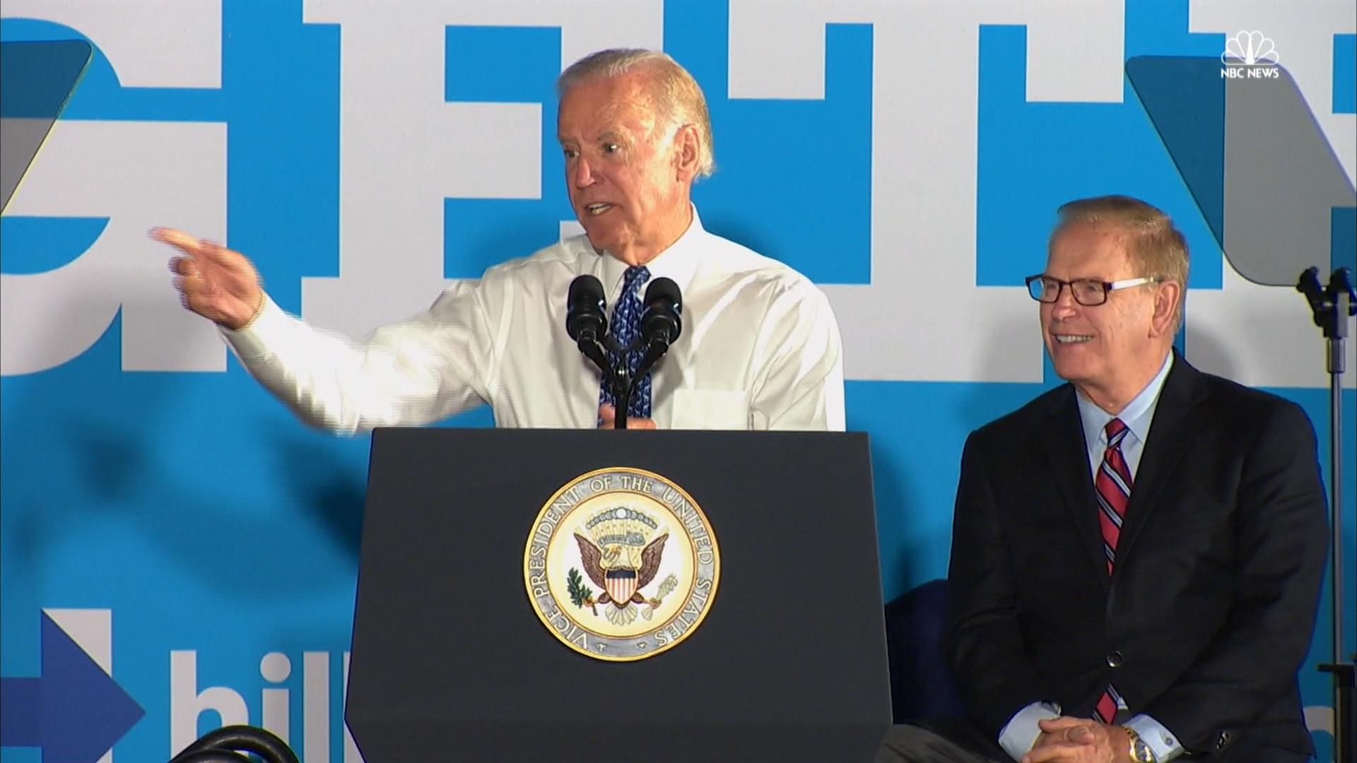 'Totally Irresponsible': Joe Biden Hammers Trump's Character in Ohio