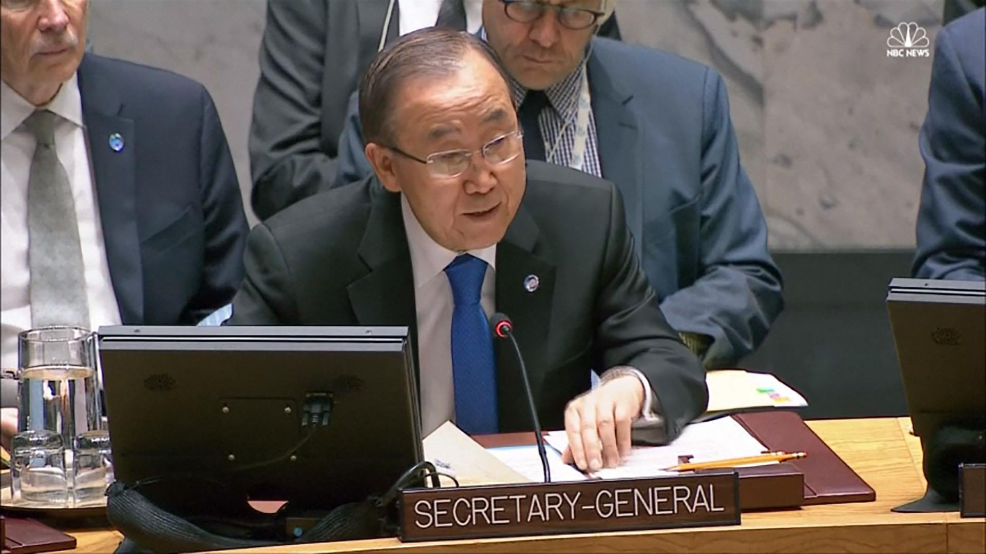 Ban Ki-moon: Aleppo Worse Than a Slaughterhouse