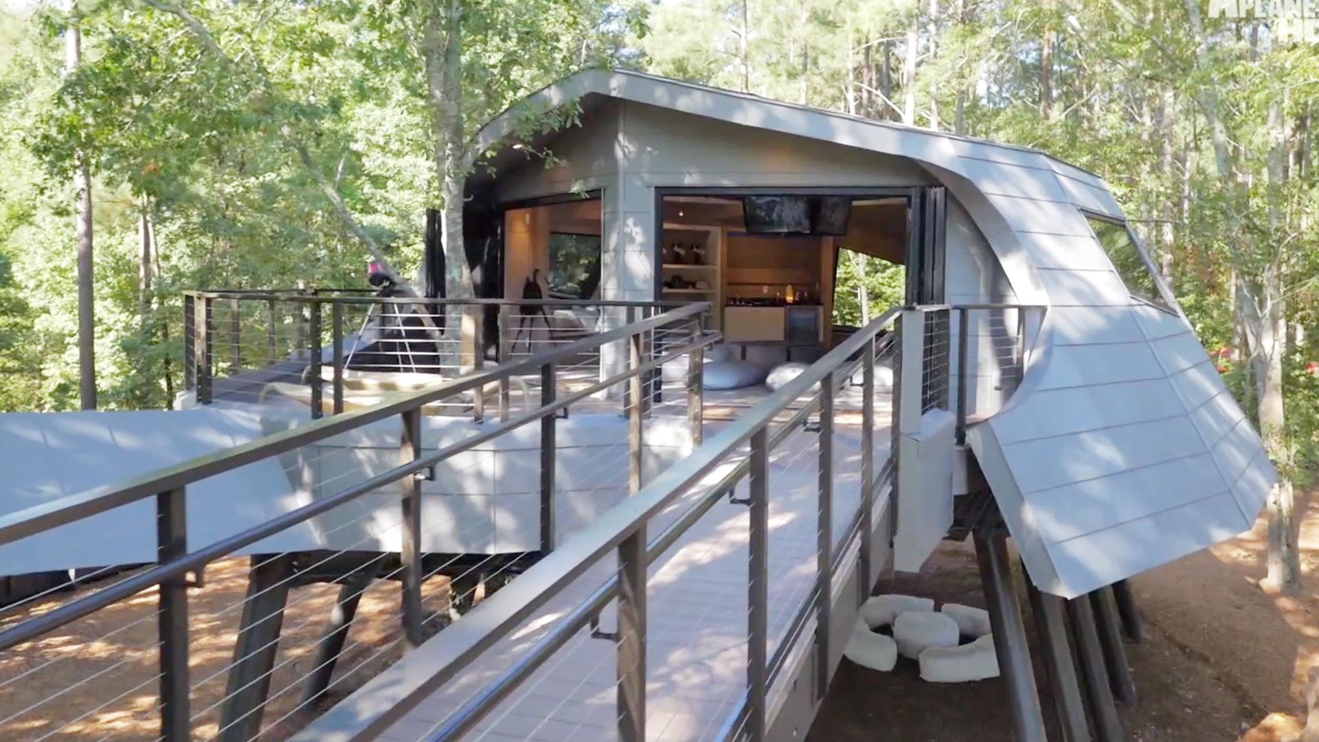 See Zac Brown's huge, otherworldly treehouse at Camp Southern Ground Zak Home Planet on home science, home tree, home tower, home truck, home color, home fire, home of superman krypton, home community, home of superman metropolis illinois, home flower, home ice, home food, home satellite, home school,