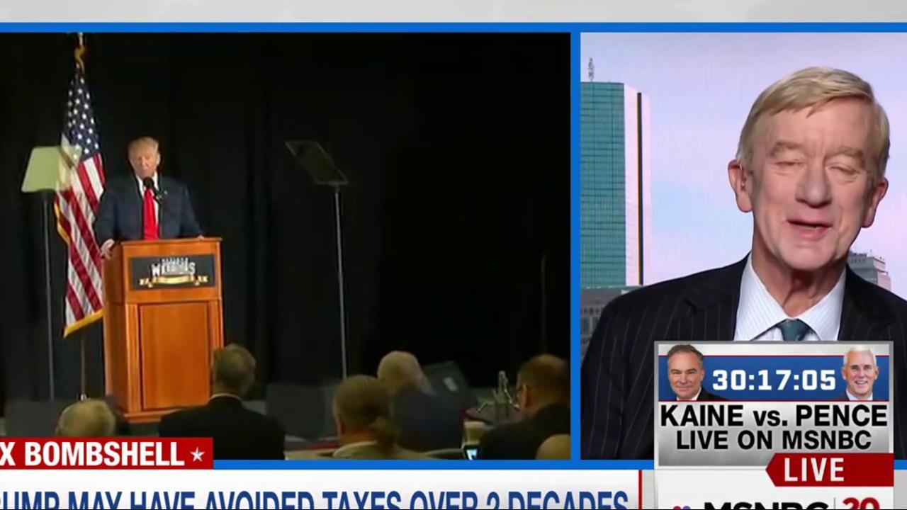 Libertarian VP candidate on Trump tax news
