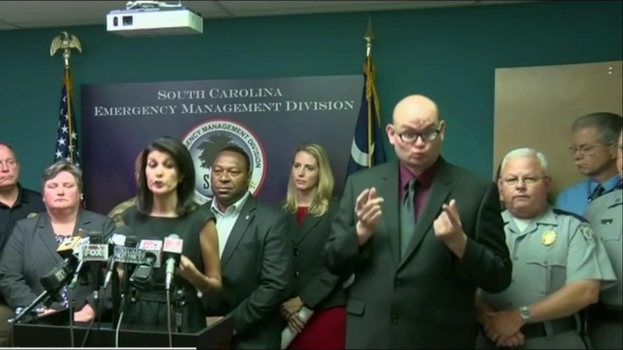 SC gov. plans to evacuate 1M people