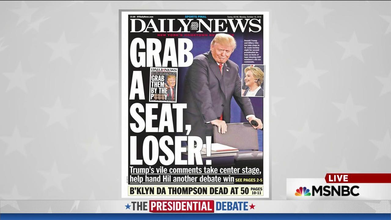 Trump's awkward physicality steals headlines