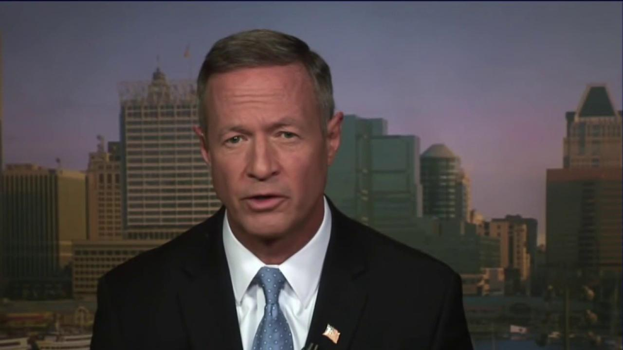 Martin O'Malley: Clinton maintained her cool