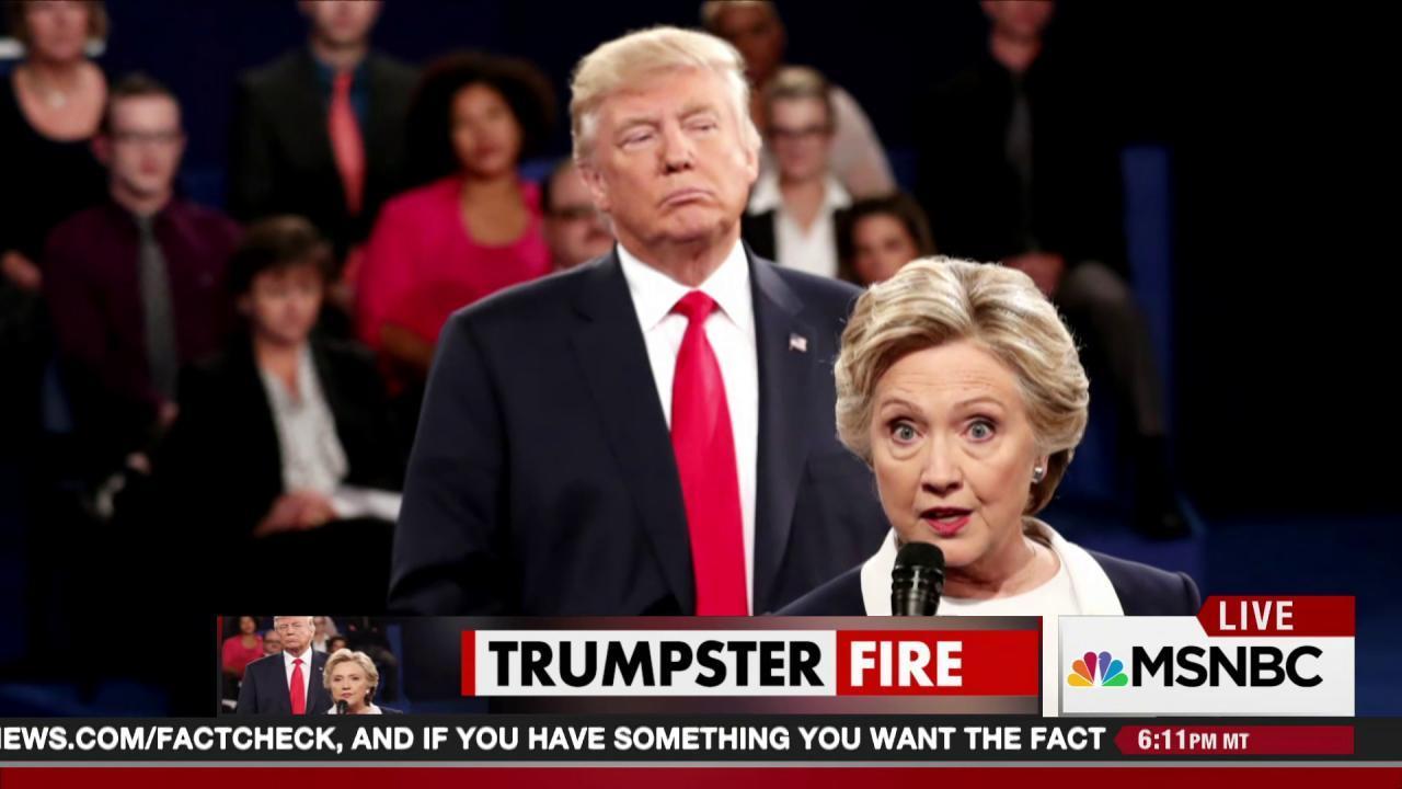At debate, Trump's gender-based menace