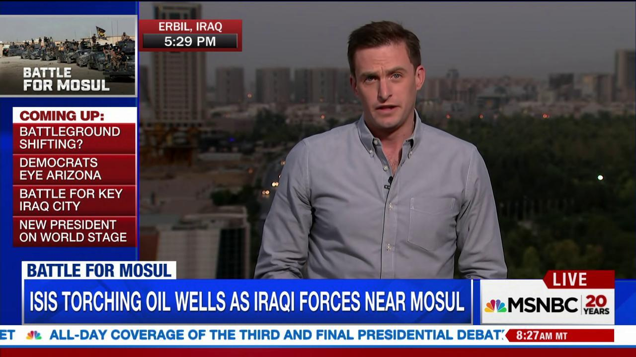 Iraq makes offensive gains against ISIS