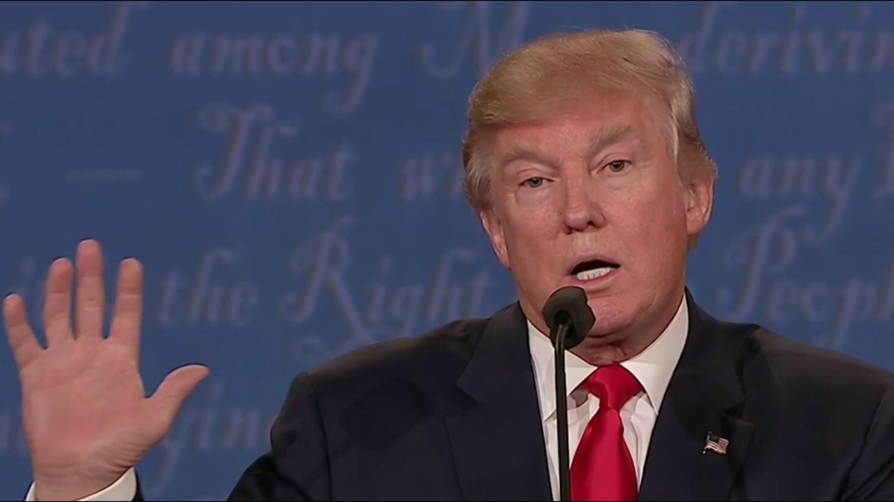 Trump Closes Debate with Emphasis on Vets, Policing, and Race