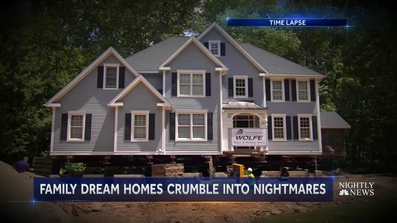 These Homes Are Crumbling From Their Foundation Nbc News