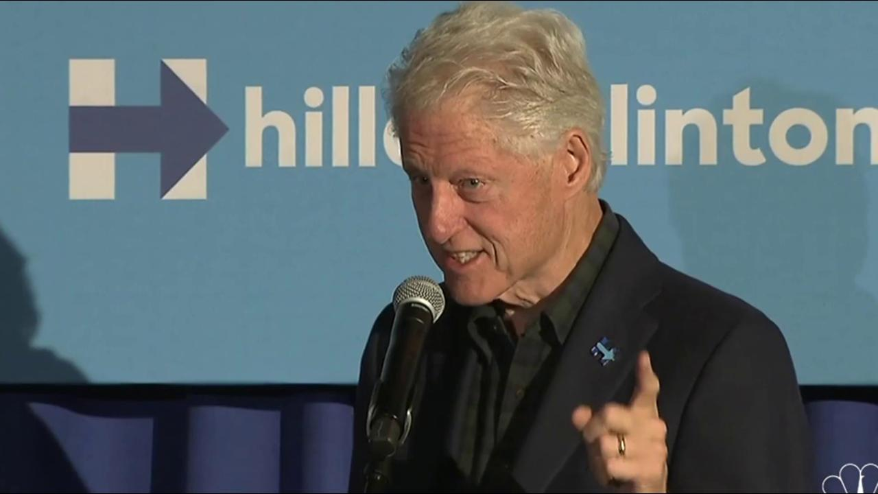 Bill Clinton: I want you to lock him out...