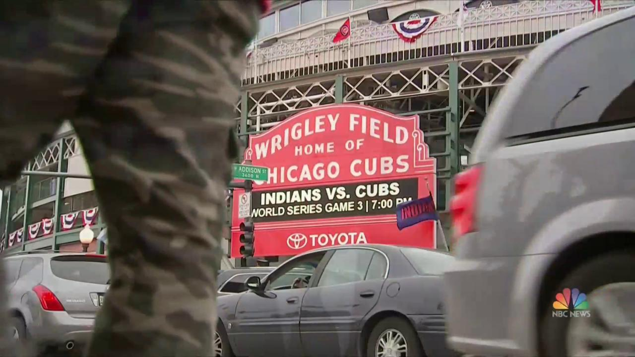 Chicago's Wrigley Field Ready for First World Series Game in 71 Year