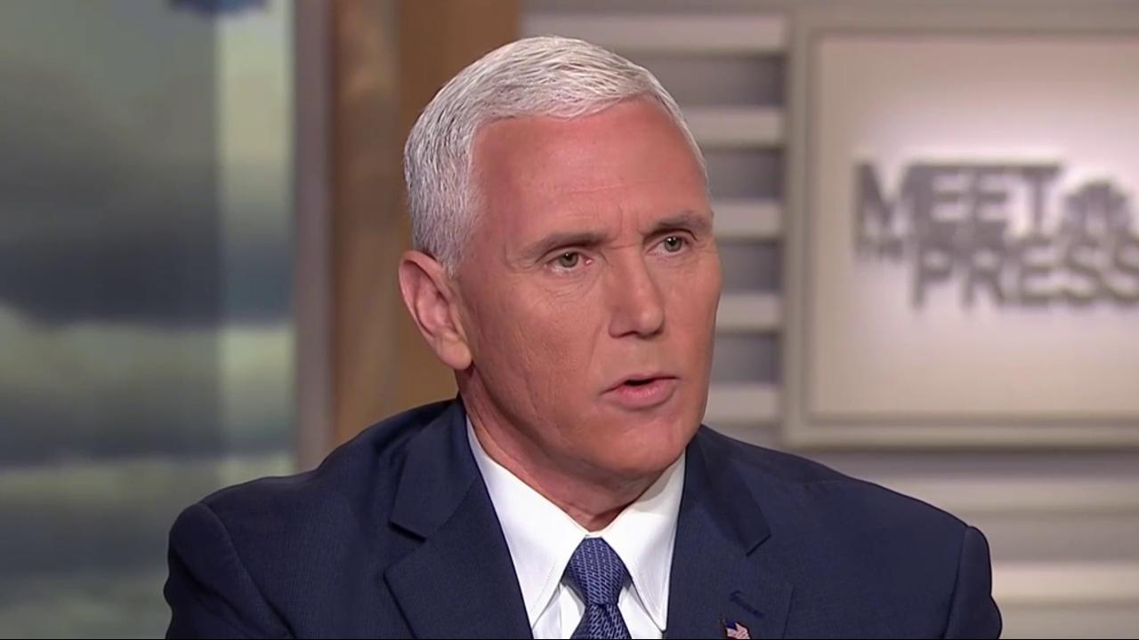 Mike Pence Full Interview: Credibility of Justice Dept. Up For Debate