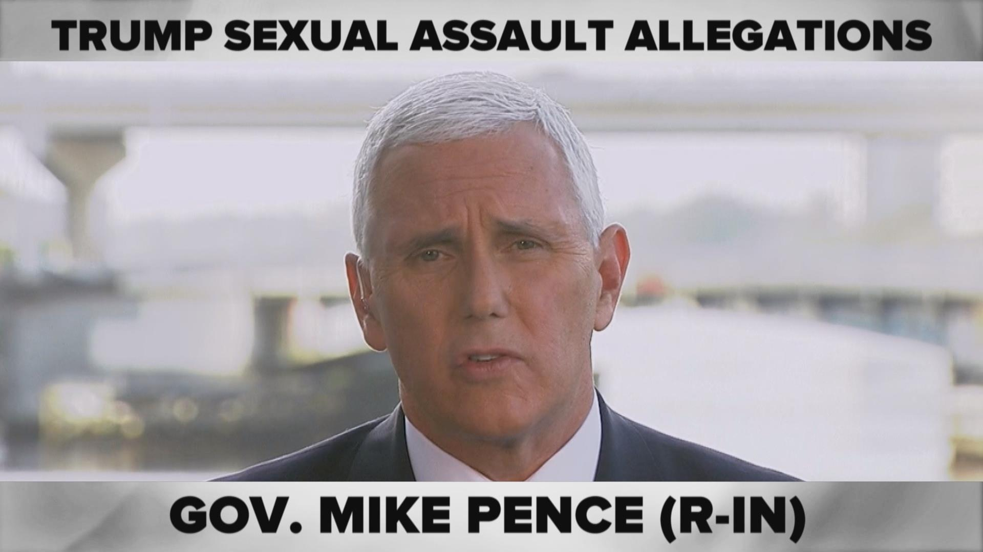ComPRESSed: Allegations Against Trump 'Unsubstantiated,' Pence Says