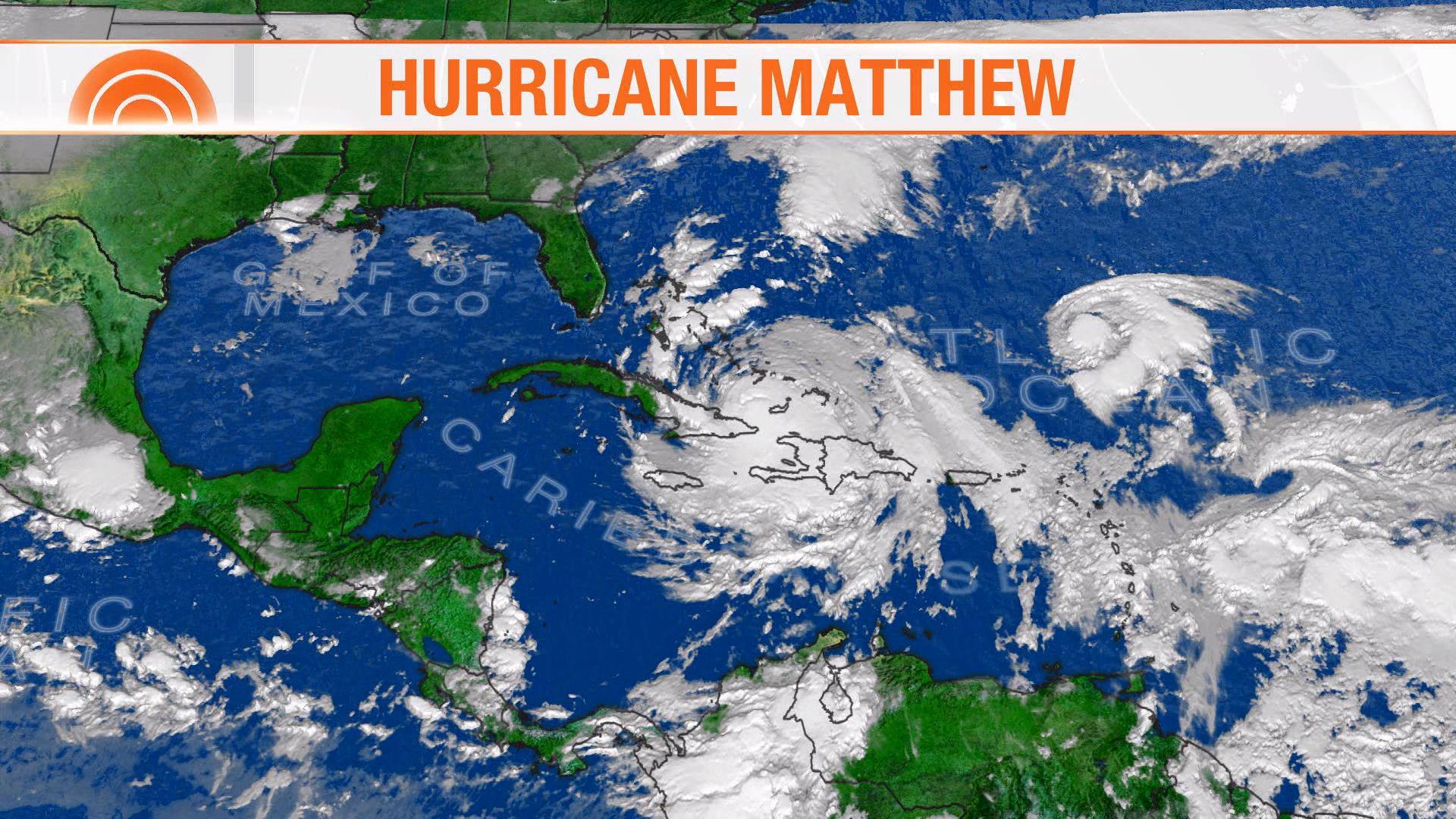 Hurricane Matthew Heading For Florida S East Coast Nbc News