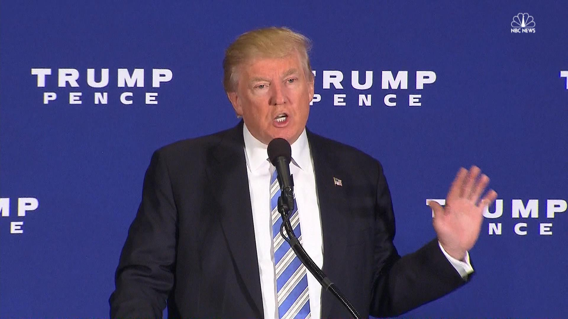 Trump Threatens to Sue Accusers, Lays Out Plan for First 100 Days in Policy Speech