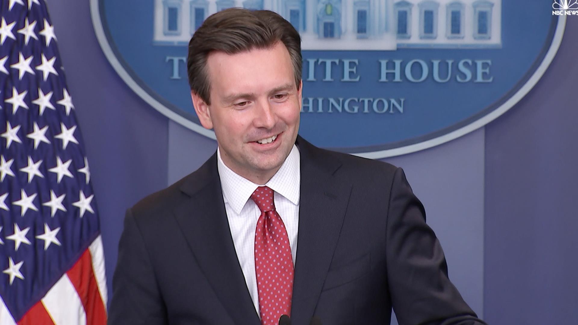 white house press secretary news msnbc