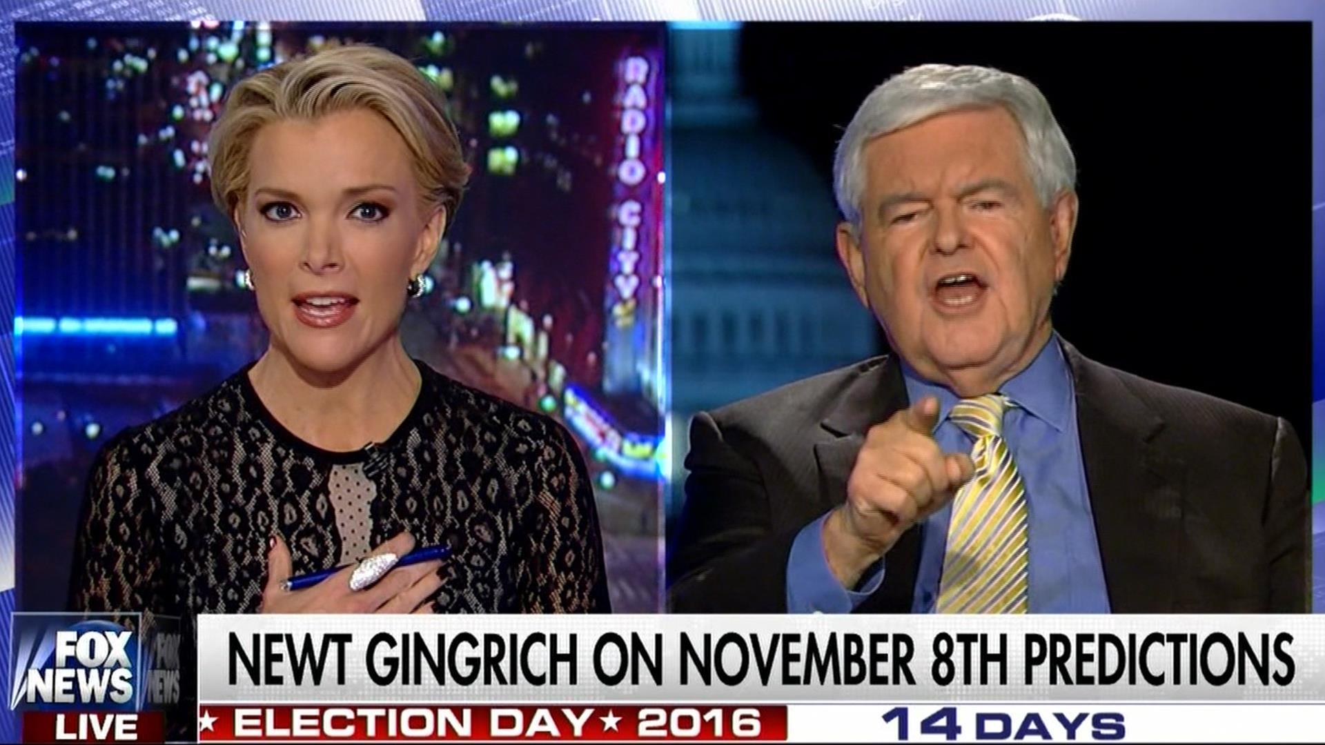 Trump surrogate Gingrich blasts Megyn Kelly