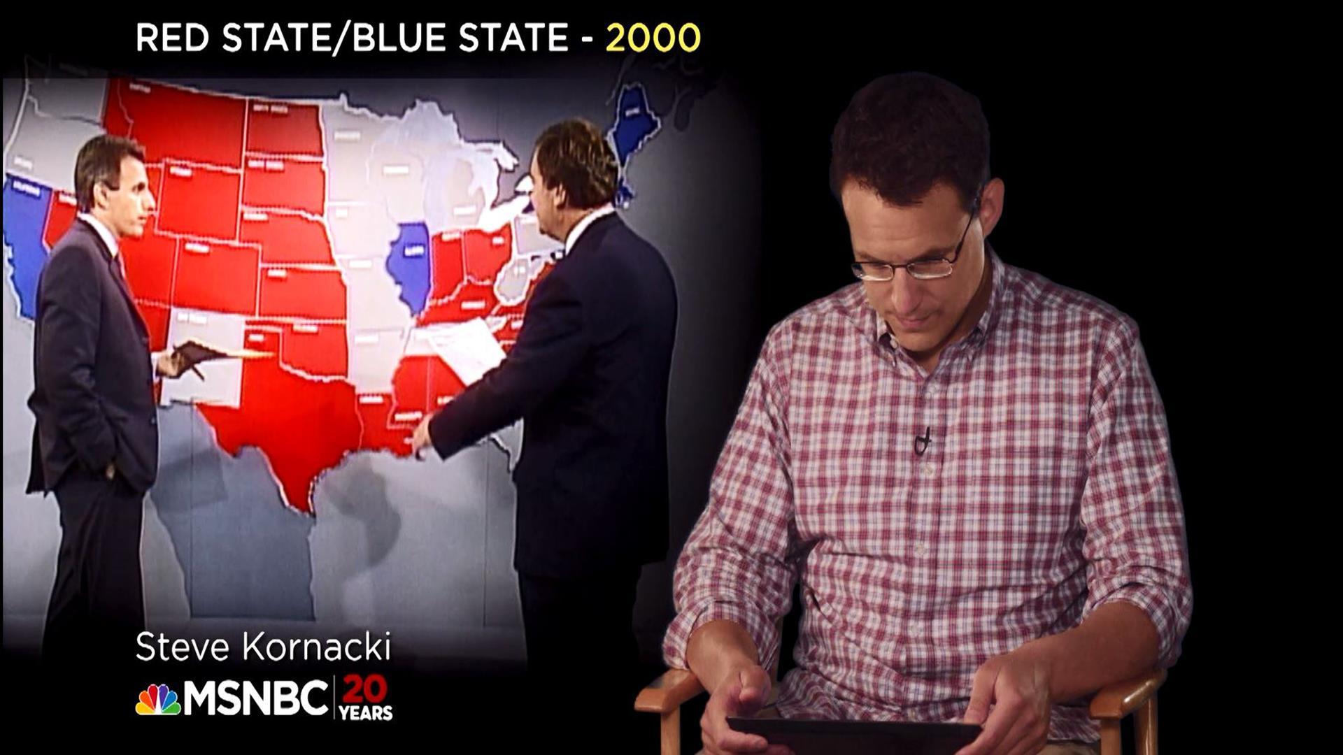 Steve Kornacki on the Origin of Red States...