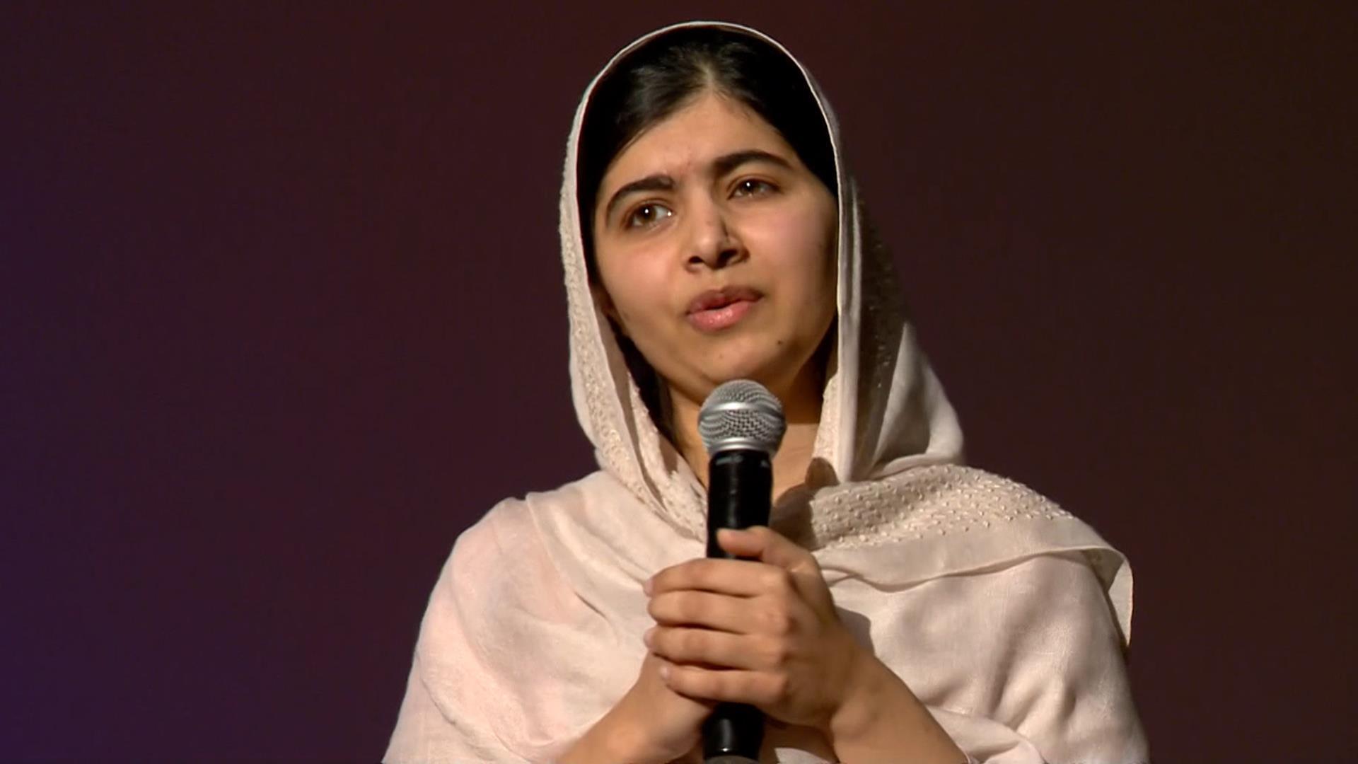 Malala Yousafzai Pays Surprise Visit To Colorado High School