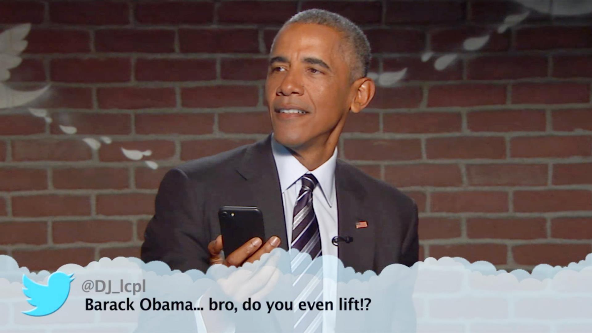 Obama responds to \'Mean Tweet\' from Donald Trump on Jimmy Kimmel