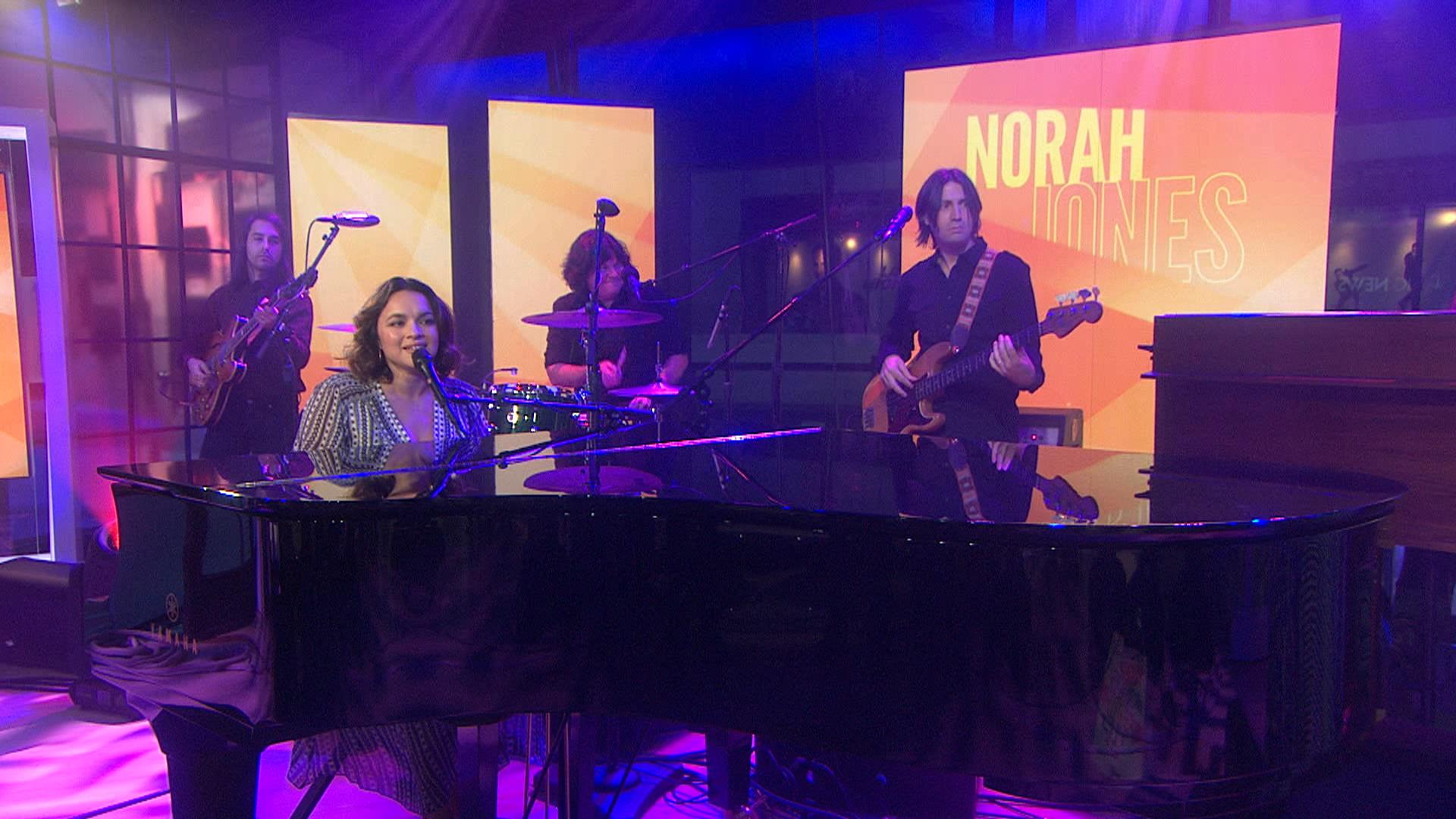 Norah Jones performs \'Tragedy\' on TODAY