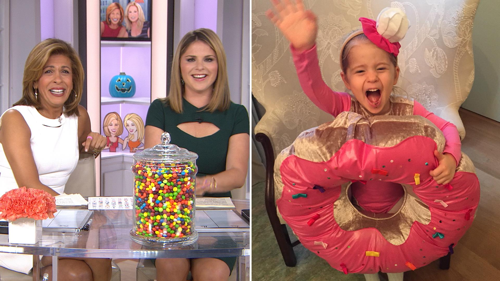 Jenna Bush Hager's daughter Mila is a doughnut for Halloween ...