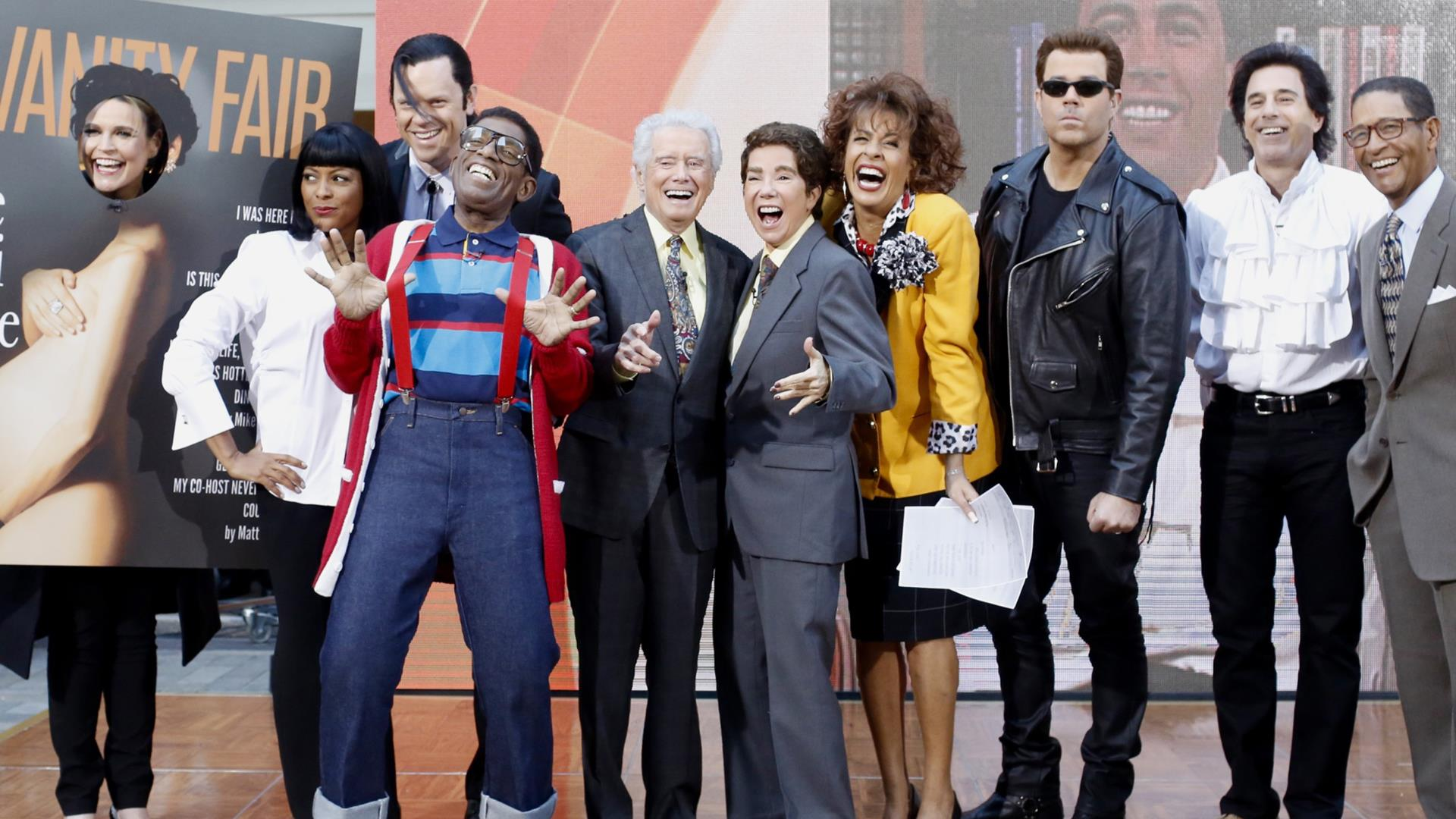 today halloween u002790s edition see the costume reveals with host carson daly
