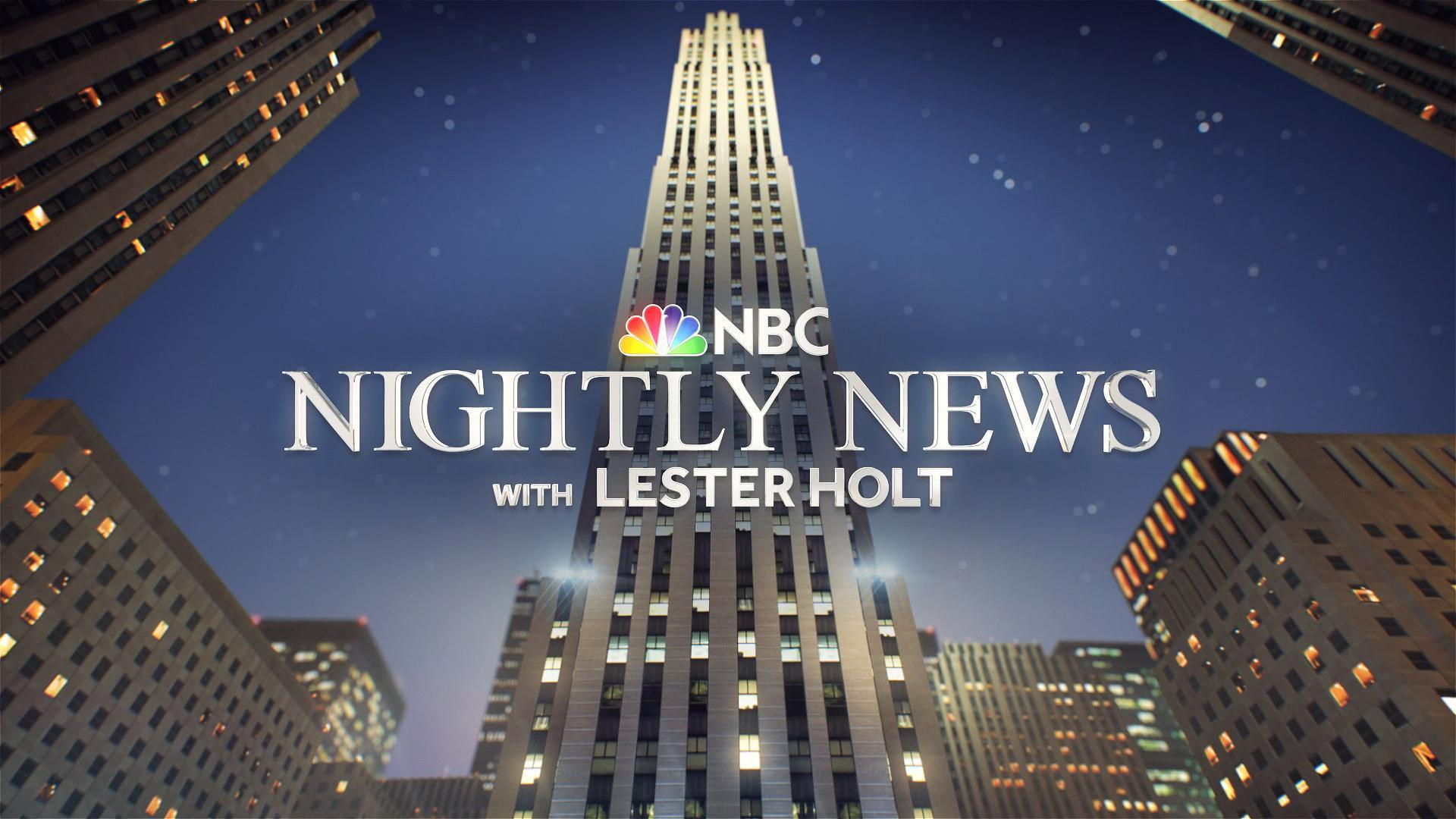 NBC Nightly News New Graphic Open