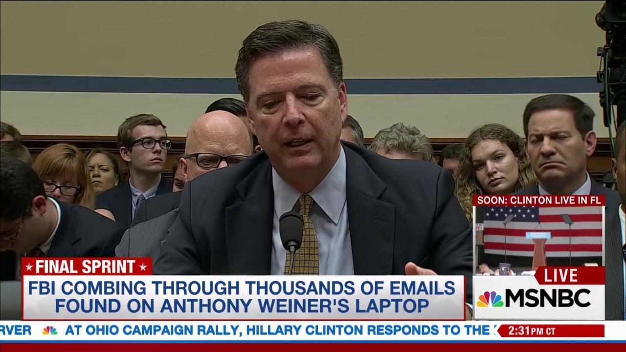 Rep. Becerra on FBI's behavior with emails