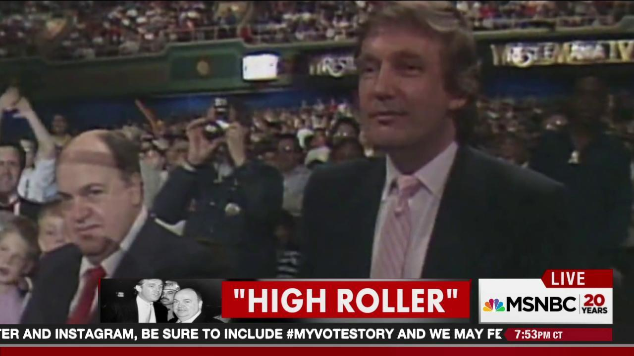 Trump claimed not to know this mob figure