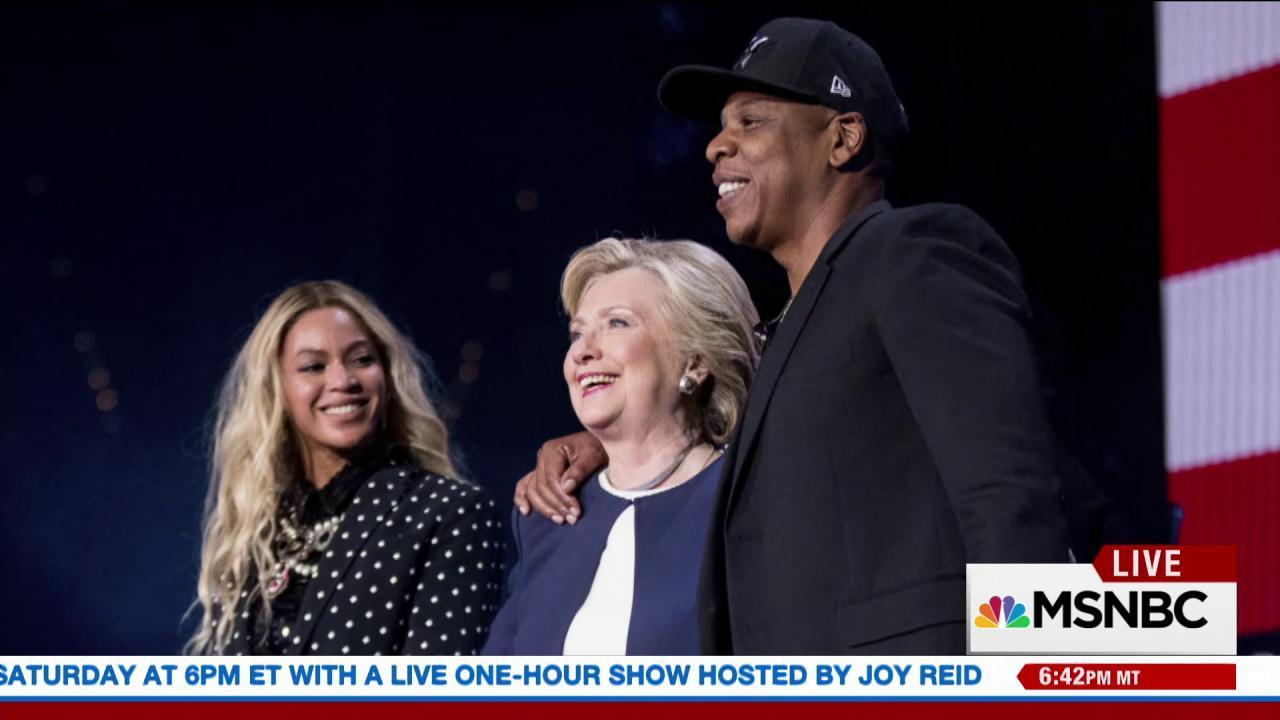 Clinton's 'Love Trumps Hate' concert series