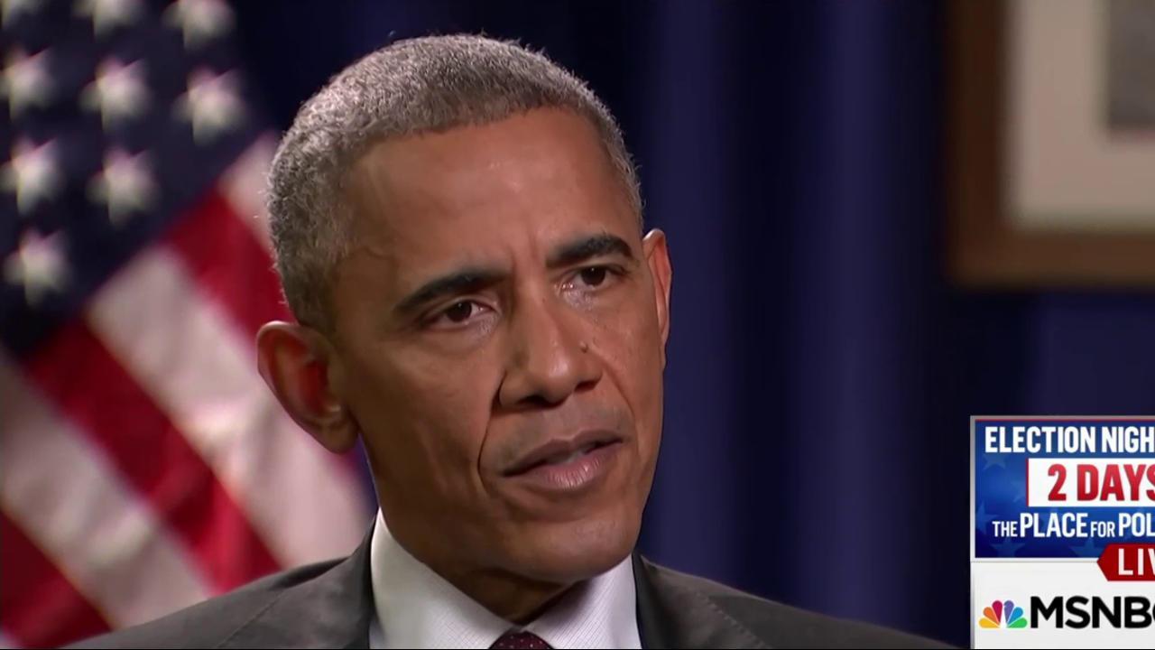 Obama: Sitting on the sidelines ...