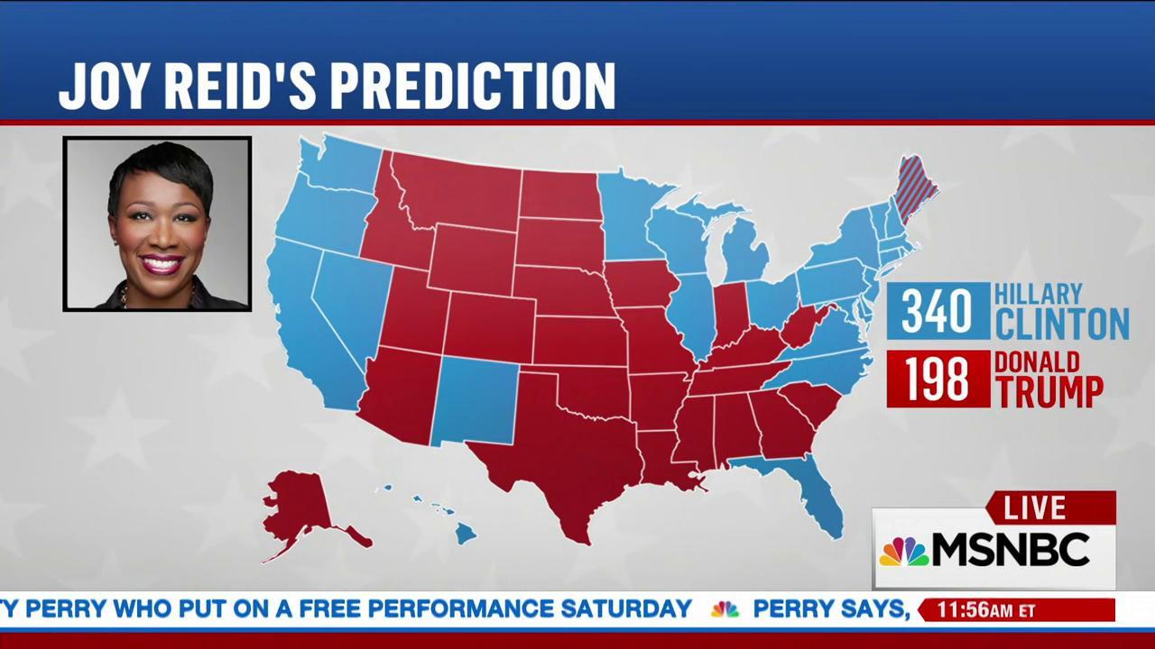 Joy\'s election predictions