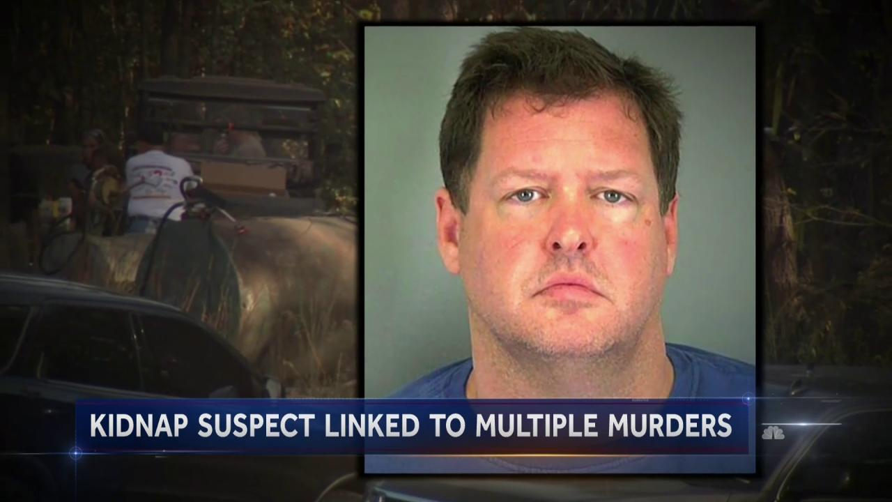 South Carolina Kidnapping Suspect Confesses to Four Murders