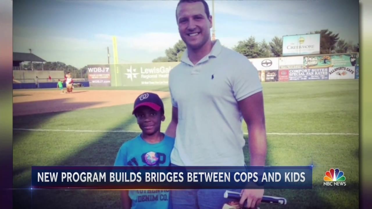 'Bigs in Blue' Hopes To Bridge Gap Between Cops and Their Communities