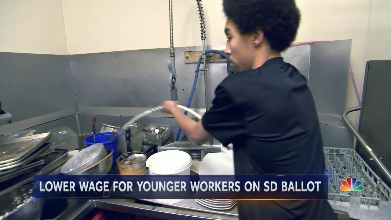 Lower Wage For Young Workers on The Ballot in South Dakota