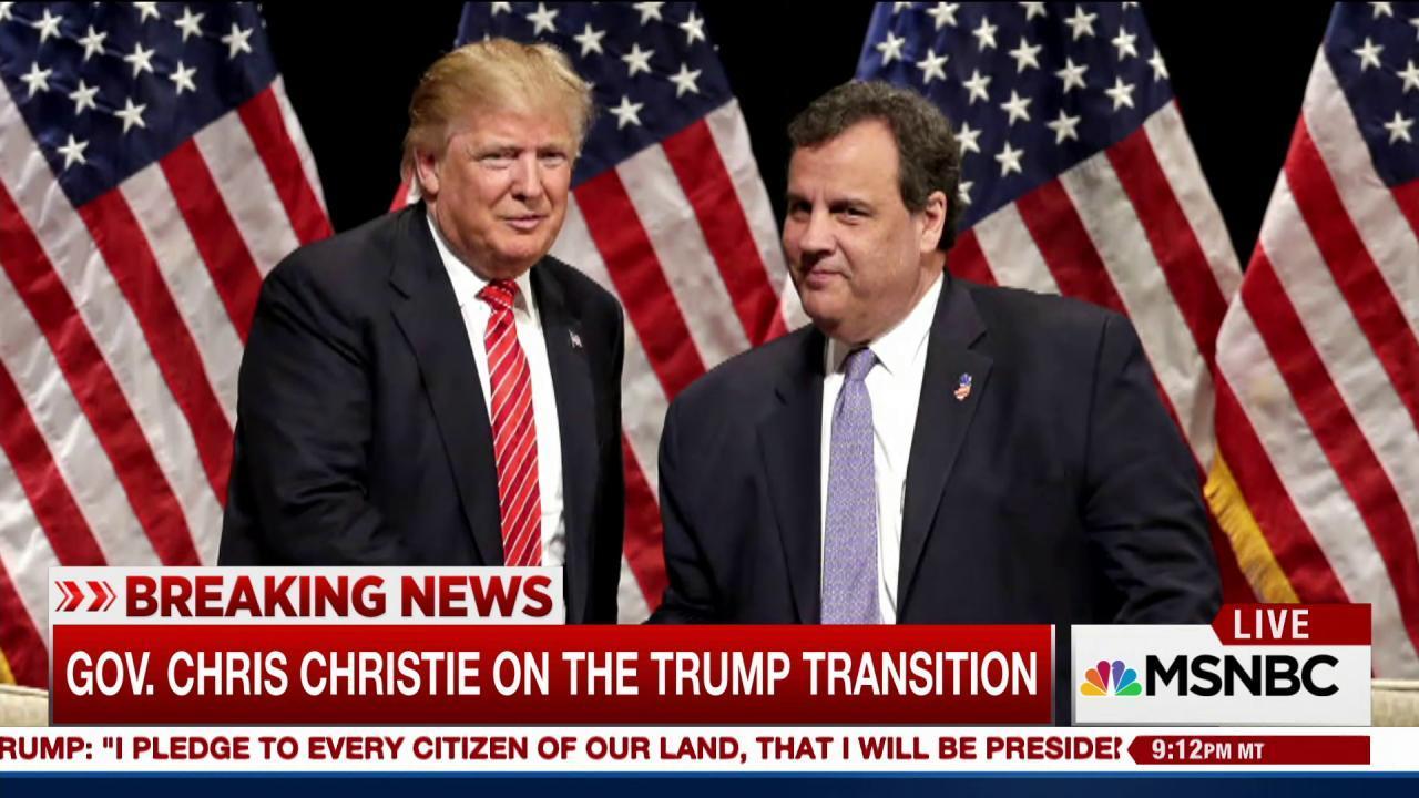 Will Bridgegate cost Christie a Trump...