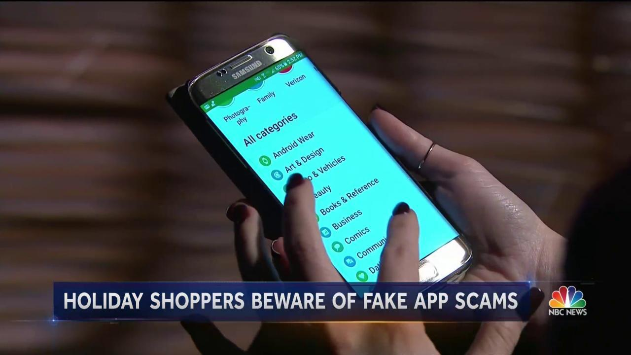 Scammers Are Infiltrating Apps Just in Time For Holiday Shopping