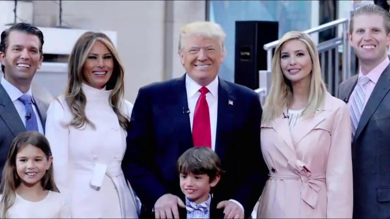 Trump Family Members Get One-Quarter of Transition Roles