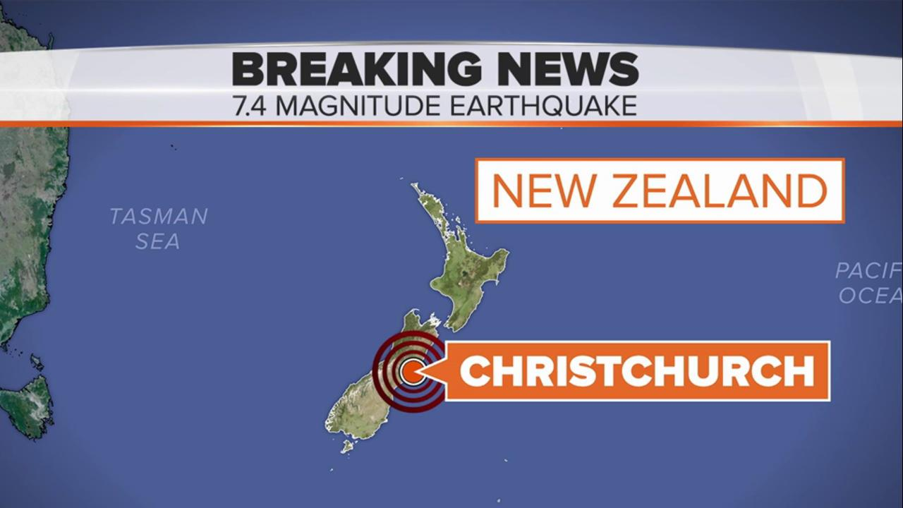 Earthquake In New Zealand Today Video