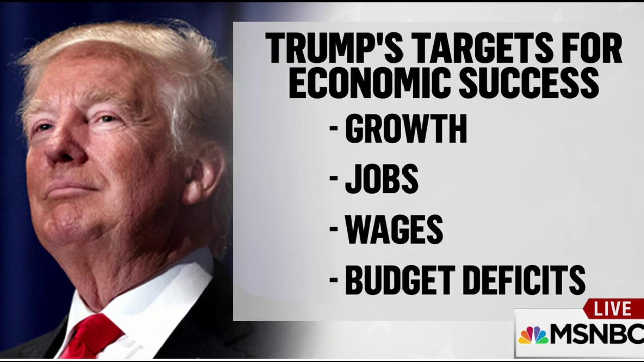 Trump's biggest challenge is job creation