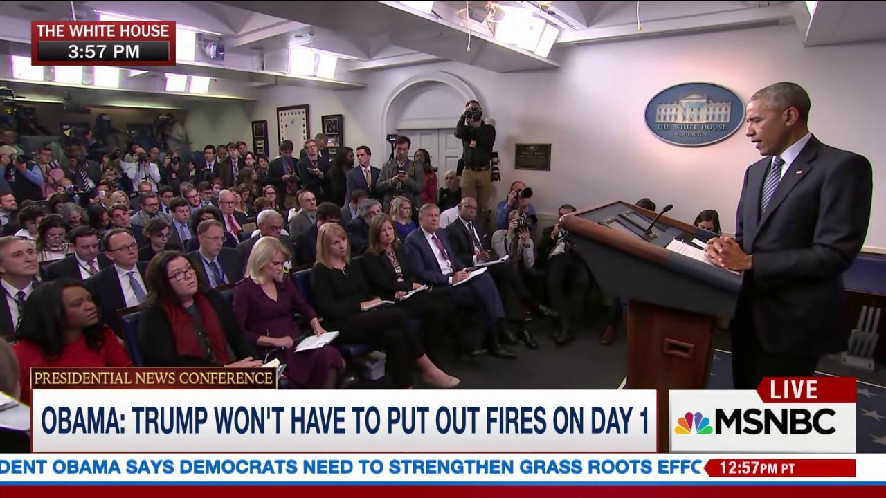 Obama says he won't comment on Trump's...