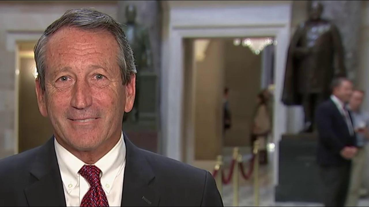 Rep. Sanford on Trump, Gov. Nikki Haley